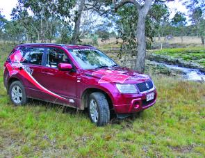 The Grand Vitara diesel certainly made a run to Ebor an affordable exercise.