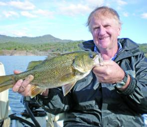 The author caught this Glenbawn bass on a 3/8oz Rock 'n Runner.