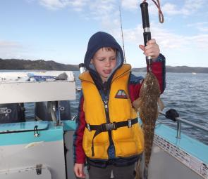 I love it when kids catch a flathead for the first time; the looks on their faces are priceless.