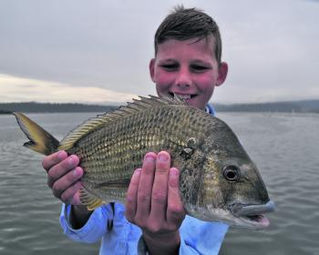 Big bream can be found in winter, but be prepared to work for them.
