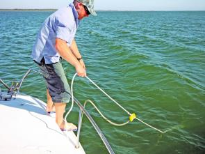 Bridling your boat is an effective way to stop the boat yawing or to keep you lines from going under the boat.