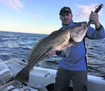 A 130cm mulloway caught by Josh Carter. Some great quality fish have been caught in recent weeks.