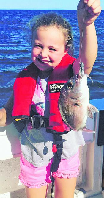 A brilliant angler in the making!