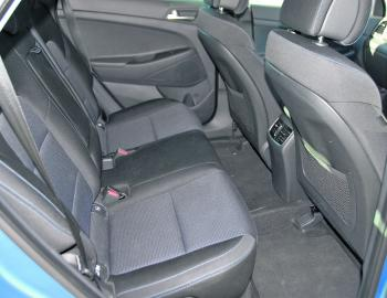 The Tucson's rear seat passengers will note extra room over that of the ix35.