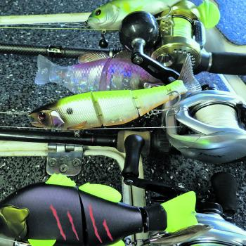 The Shimano Tranx are a workhorse reel for throwing XOS swimbaits.