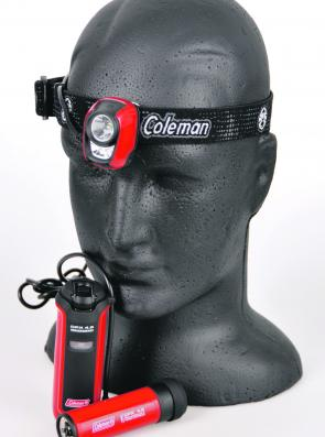The Coleman CPX 4.5 LED Headlamp is brilliant. It's bright, has adjustable lighting levels and can be operated with a rechargeable battery pack or 3 x AAA batteries.