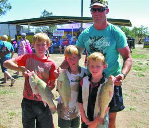 The Longreach Yellowbelly Classic is a favourite with kids and adults alike.