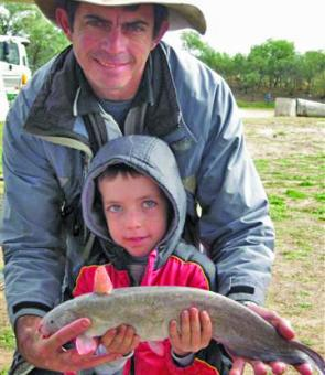 Joshua Cooper won the Junior Longest Catfish title last year with an impressive 49.5cm specimen.
