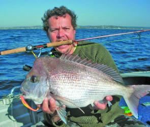 Like many others, Chris Hack enjoyed his session on the snapper at Long Reef.