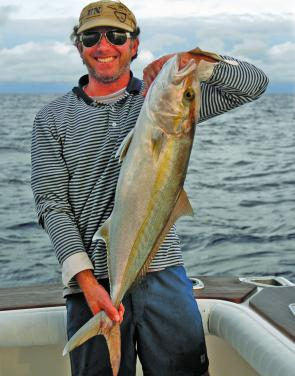 With snapper, pearl perch and trag off limits during March, plenty of anglers will target cobia, yellowtail kingfish, Samson and amberjack.