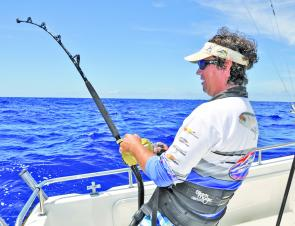 The Coffs Coast has a year-round billfish fishery but it's a matter of closely analysing the sea surface temperature charts to decide whether its worth the effort in the co-called off months.