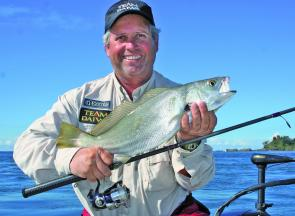 Mulloway will be heading up-river this month, and will be found in deep holes and around bridge pylons.