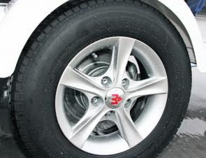 Alloy wheels and disc brakes finish off the package.