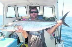Larger Spanish mackerel will become more common during March.