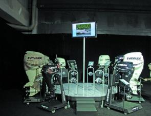 Unfortunately we all have to wait a little longer for the next evolution of the Evinrude E-tec engines.