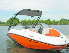 The Sea-Doo 180 SP boat showcases the style, practicality and power BRP is known for.