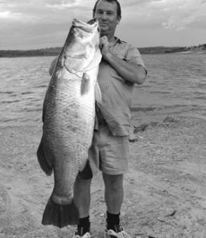A big barra from Lake Belmore near Croydon.