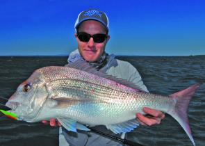 This awesome Mud Island snapper was a new PB for Matt Mundy.