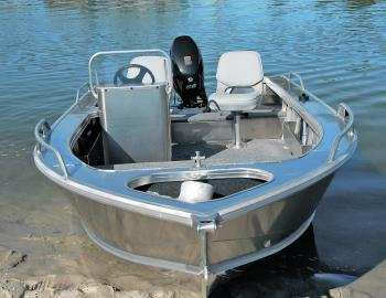 The 450 Catcher is a no-frills but very capable craft with a lot of appeal to the angler.