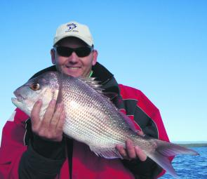 It's a special waterway where snapper of this size, and a lot bigger, can be caught in broad daylight by a rec fisher with average skills.