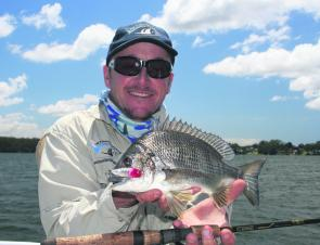 Surface luring for bream on a net-free waterway – it's estuary fishing nirvana!
