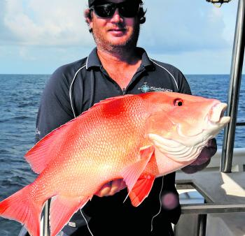 A nice red caught on a far northern reef.