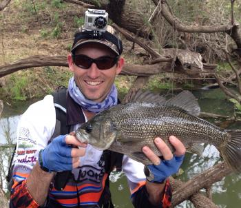 Barkers Creek offers some great fishing on the surface, even through the winter months.