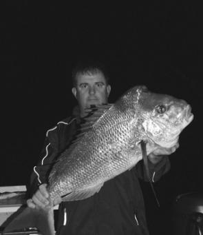 Big snapper have been around for those doing the hard yards. And fish like this are worth plenty of hard yards too.