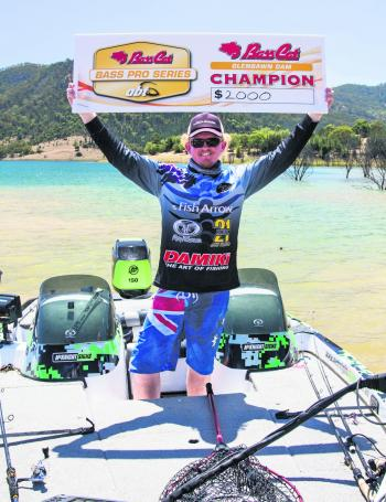 This was Mitchell Cone's first ABT BASS Pro victory, and he was understandably excited.