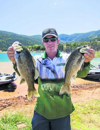 Tim Oakley claimed the Austackle Big Bass award in his first ABT BASS Pro event as a boater.