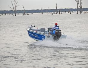 The 50hp Suzuki 4-stroke was brilliant on this rig.
