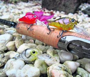 Some of the latest offerings from the Hurricane lures stable.