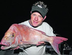 Fishing during the night to escape the boat traffic can be very rewarding.