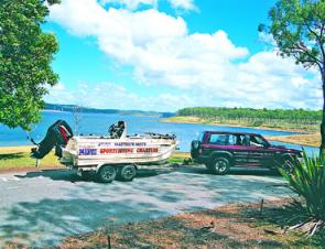 Matt Mott guides on Lake Awoonga and can provide a great holiday fishing experience for anglers travelling from the main population centres.