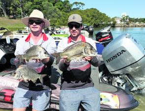 Team Ballina Marineland took out first place with a 3.78kg bag, and they also scored the Big Bream prize with a 1.24kg fish.