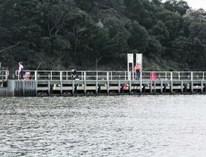 Marlo Jetty is a popular spot to wet a line.