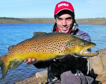 Big hungry trout are on offer in Ballarat!