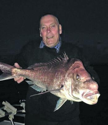 Greg caught this amazing snapper on a morning session in PPB. You don't see many reds like this in the bay.