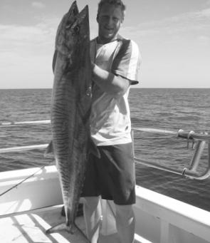 Shane Findlay scored this Spanish mackerel at the Keppels.