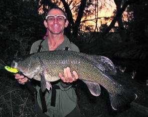 Alexander Hector pinned this absolute ripper of a Murray cod 5 minutes from Wangaratta on a JD Superbug recently. The fish measured 81cm and was Alexander's first 'oversized' Murray cod since the new slot limit of 55cm-75cm was introduced at the start of