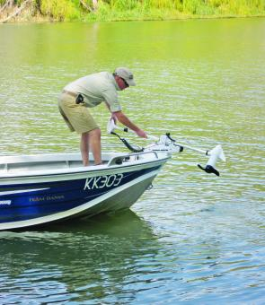 The Rip Tide electric was the only choice for Marc as he wanted a warranty in case anything went wrong. The Rip Tide maintains its warranty when used in saltwater whereas other models and brands sometimes don't.
