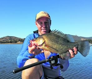 Jigging lures like blades, ice jigs and lipless baits will definitely get the golden perch chewing. It pays to try a few lure types to see what they want to eat.