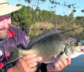 Quality bream have been scarce right across the Gippsland Lakes.