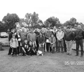 Stawell Angling Club members on their monthly trip to Portland.