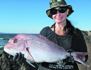 The snapper are starting to show but will really hit their straps next month.