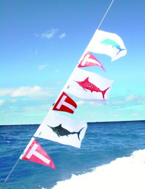 A grand slam of all three marlin species, all caught on skip baits.