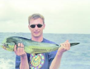Mahi mahi are a welcome by-catch when pursuing marlin.
