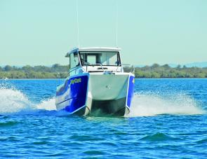 This craft can double as a family cruiser or fishing rig, depending on the requirements of the day.