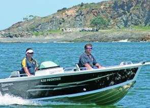 The Seascape 4.52m Frontier Side Console is a versatile, solid performer with plenty of fishing features.
