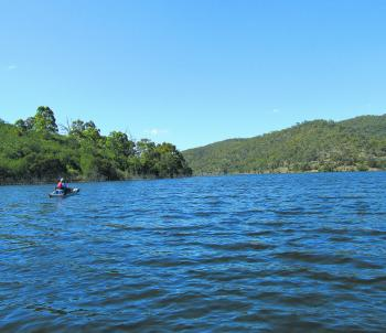 Googong is a stunning fishery.